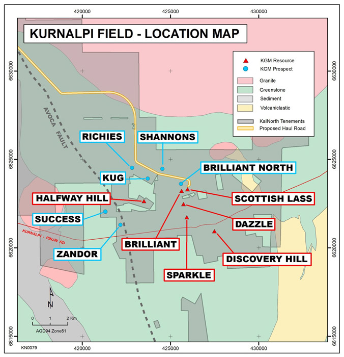 Kurnalpi Field Map